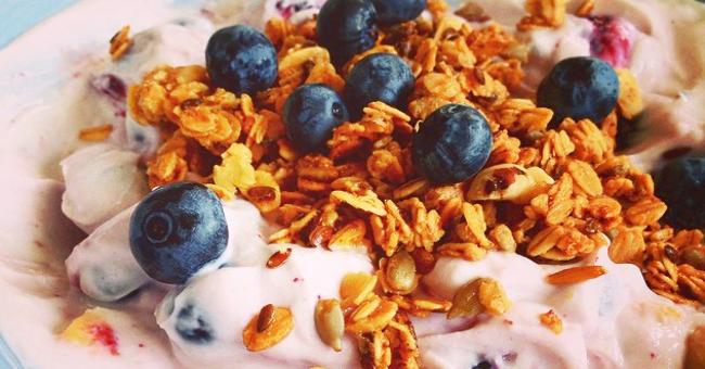 proteinrik frukost recept