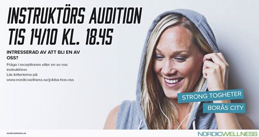 Audition Borås (1)