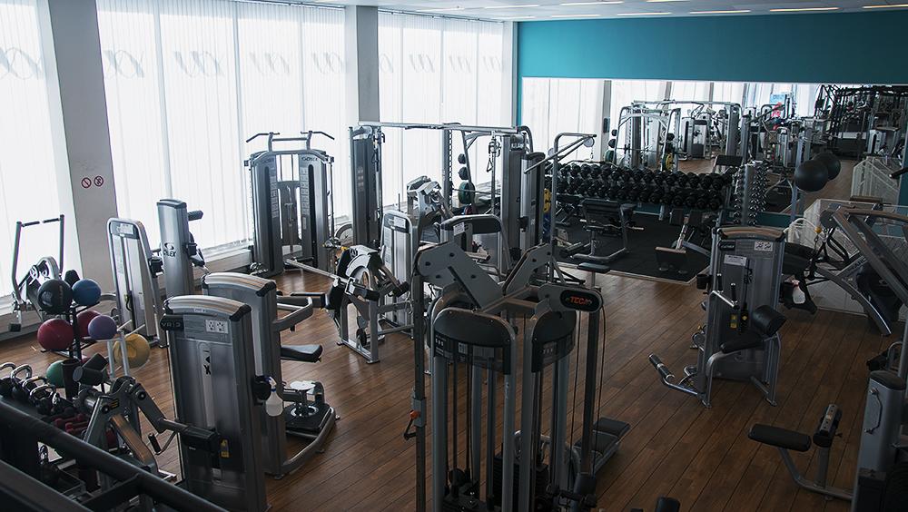 gym i hammarby sjöstad