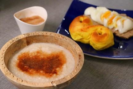 risgrynsgröt med mandelmjölk