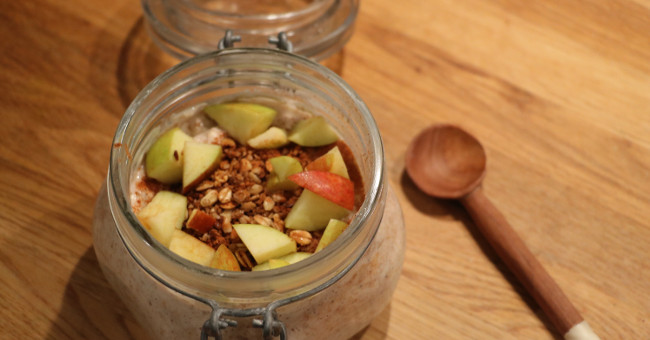 proteinrik frukost vegan