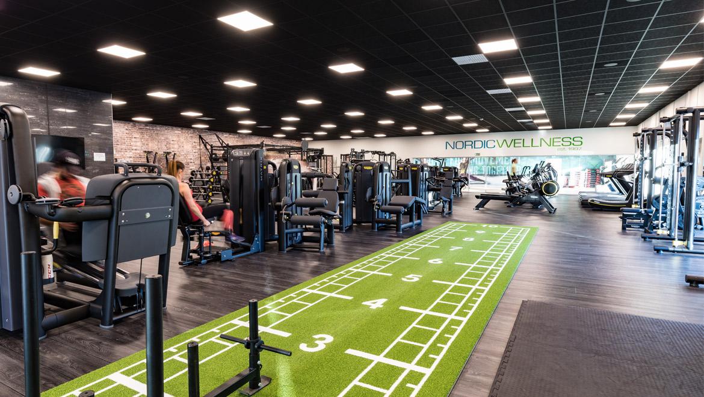 top fitness center billdal