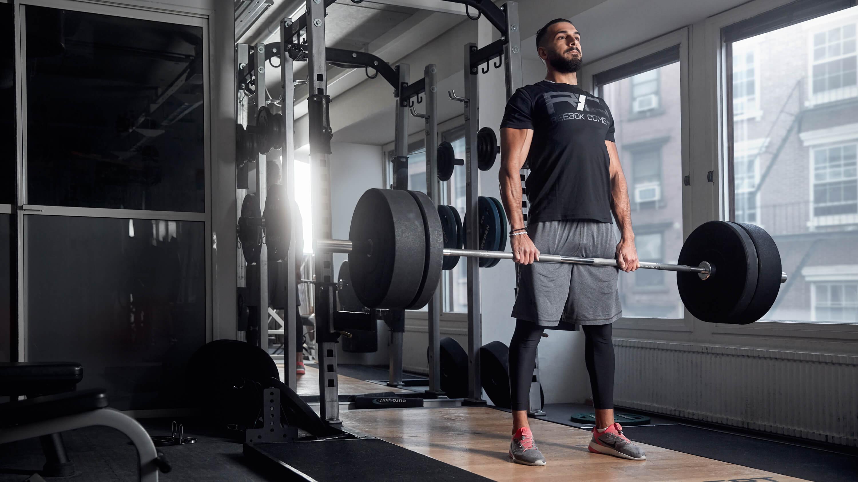 upp i vikt av träning